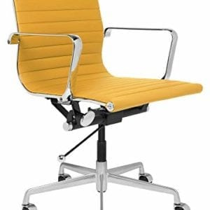 SOHO Ribbed Management Office Chair, Yellow