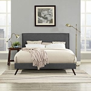 Modway Platform Bed Frame With Splayed Legs
