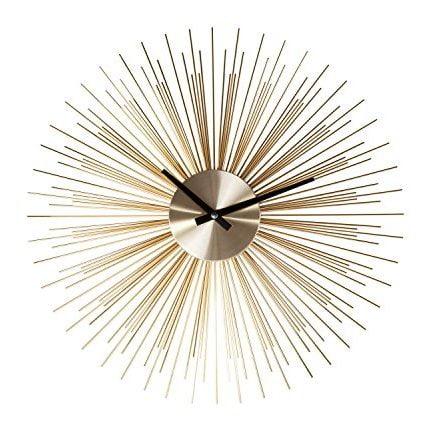 Stilnovo Gold Urchin Clock
