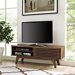 Render Mid-Century Modern Low Profile TV Stand