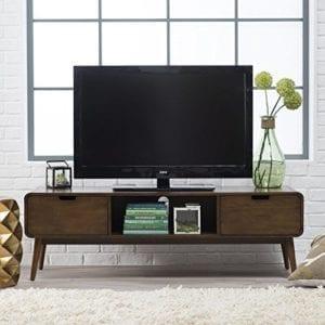Belham Living Carter Mid Century Modern TV Stand