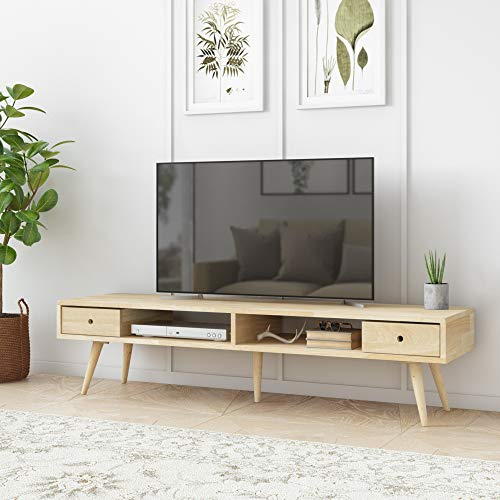 Domesis Mid Century Modern Wood TV Stand