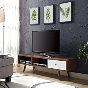 Transmit Mid-Century Modern Low Profile TV Stand