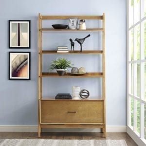 Crosley Landon Large Etagere Bookcase
