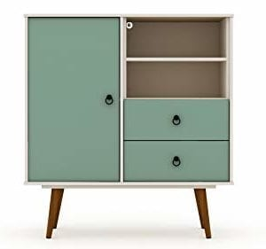 Manhattan Comfort Tribeca 2 Drawer Dresser