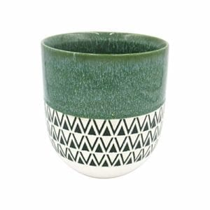 Stone & Beam Mid-Century Two-Toned Planter