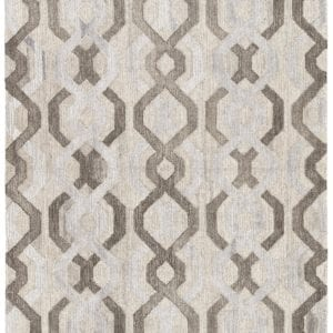 Fairfield Handmade Trellis Brown & Gray Area Rug