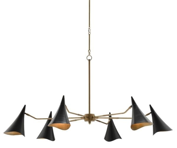 Library Chandelier design by Currey & Company