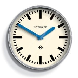 Luggage Clock in Blue design by Newgate