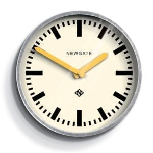 Luggage Clock in Yellow design by Newgate