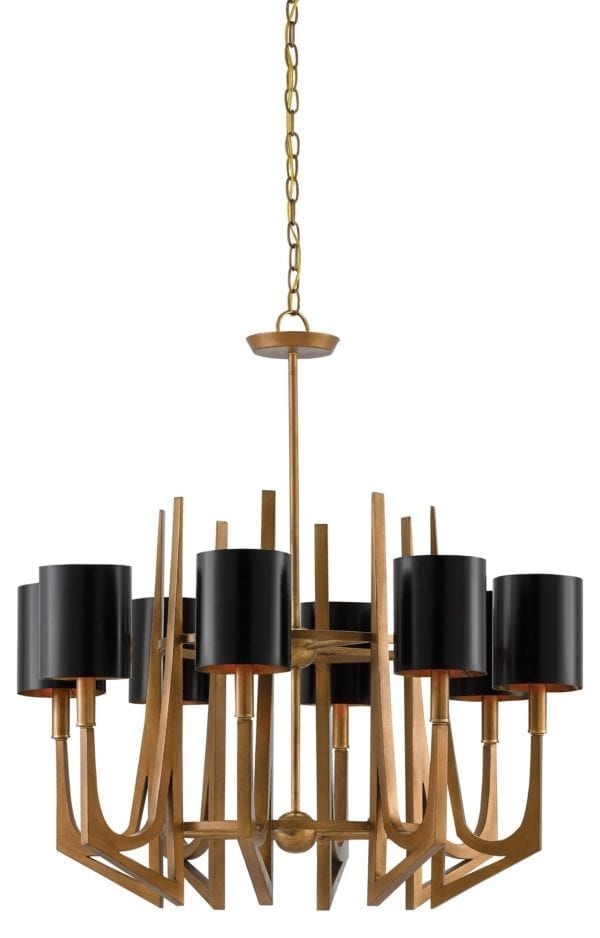 Umberto Chandelier design by Currey & Company