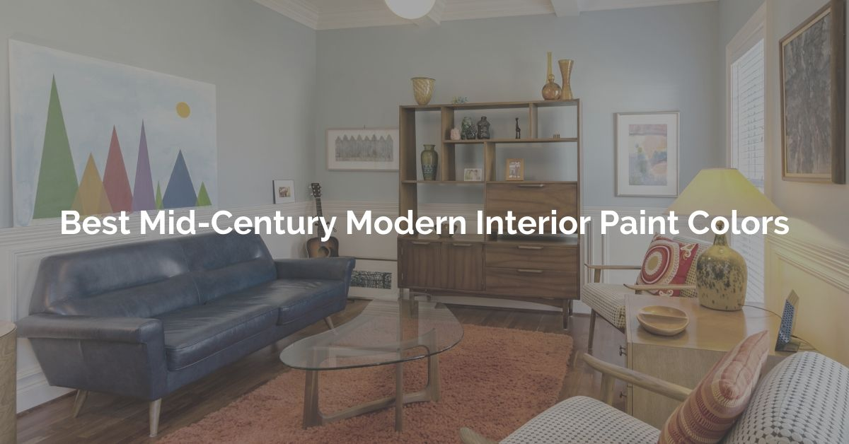 Image of: Best Mid Century Modern Interior Paint Color Ideas Mid Decco